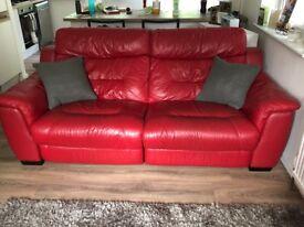 Electric Reclining Sofa Set