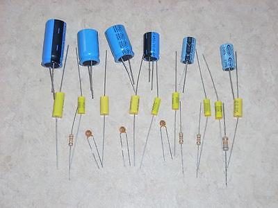AMI JUKEBOX AMP REBUILD CAP CAPACITOR KIT FOR MODELS E-40 E-80 E-120 AMP -