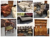 ** LOTS OF SECOND HAND FURNITURE - ANTIQUE, VINTAGE, NEARLY NEW **