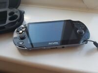 PS VITA Slim - Perfect Condition - 3 Games, charger and case