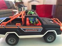 Playmobil trucks 2 4x4 and a monster truck
