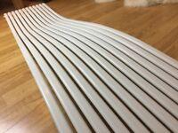Wave Designer Vertical Radiator 1800mm H x 440mm W - White Colour