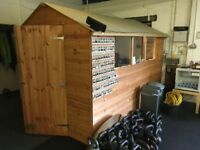 Garden shed || Tongue and groove || 10 x 6ft || never been used outdoors