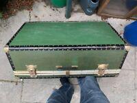 Large Vintage Rimowa Travel Case / Trunk
