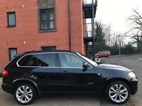 BMW X5 2009 M SPORT SD TWIN TURBO 285 BHP ** 1 OWNER FROM NEW ** 12 MONTH MOT ** 2 KEYS FULL SERVICE
