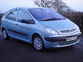 2002 Citroen Xsara Picasso 1.6 ** FULL 12 MONTH MOT / EXCEPTIONALLY CLEAN & TIDY **