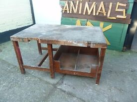 Old Woodwork Bench Shabby Chic Project Delivery Available £15
