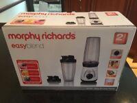 Morphy Richards Easy Blend Blender - 2 x 750ml Cups (BNIB)