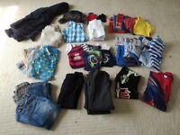 Bundle of boys clothes age 4-5 including Next, M&S, John Lewis (48 items)