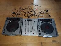 2x CDJ 800 mk1 & Behringer DX626 Mixer