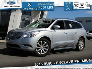 2015 Buick Enclave PREMIUM**AWD*8 PASSAGERS*CUIR*TOIT*NAVI*CAMER