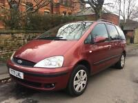 Ford Galaxy 2.3 Zetec Automatic Full 12 Months Mot
