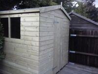 NEW 8 x 6 APEX GARDEN SHED 'BLACKFEN' £575 - INCLUDES FREE DEL & INSTALLATION
