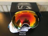 SUNGOD Custom Ski/Snowboard Goggles BNIB