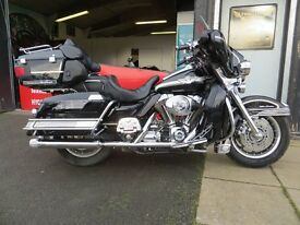 2004 Harley Davidson Ultra Classic Electra - £8995. Loaded with extras, exceptional condition.