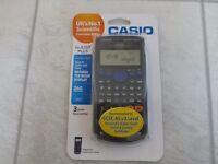 asio fx-83GT Plus scientific calculator - Brand new in sealed packaging