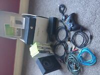 Xbox 360 Elite 4gb with 8 games & other bits