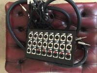 Lynx custom built stagebox RRP £225