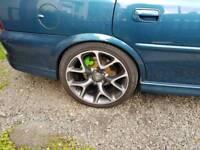 "18"" Vauxhall VXR Alloys and tyres"