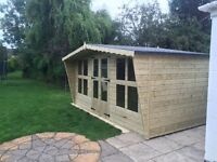 Sheds tanalized timber summer house