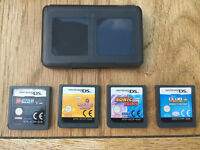 Nintendo DS Games x4 - Lego Star Wars, Cooking Mama, Club Penguin, Sonic £15