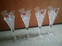 CRYSTAL LIKE GLASSES.