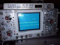Oscilloscope Dual band storage scope
