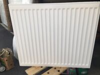 Double Radiator, white unmarked , used but looks like new.