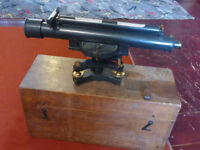 Vintage Surveyor's Theodolite