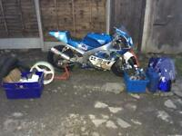 ZXR400 Championship Winning L Model Racebike