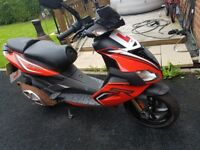Aprilla 50cc moped excellent condition
