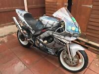 1994/95 FZR600R track bike/project