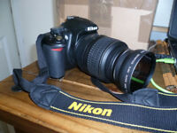 nikon d3100 dslr camera + extras £165