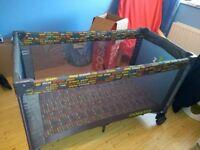 Cosatto 4 in 1 travel cot with bassinette