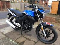 Lexmoto ZSA 125 2016 low miles for sale £900