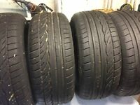 Set of 4 x 235/55 R17 Dunlop Sport01 - SUV Tyres