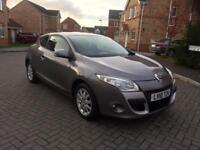 2010 RENAULT MEGANE EXPRESSION 1.6 PETROL 12 MONTHs MOT SERVICE HISTORY LOW MILEAGE FULL HPI CLEAR