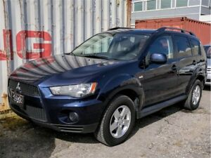 2013 Mitsubishi Outlander ES, AWD, HEATED MIRR