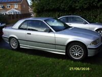 1998 BMW 3 SERIES 318i E36 CONVERTIBLE CABRIOLET with HARDTOP and M SPORT LEATHER INTERIOR