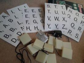 Scrabble lights
