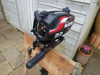 Susuki DT2.2 two stroke outboard