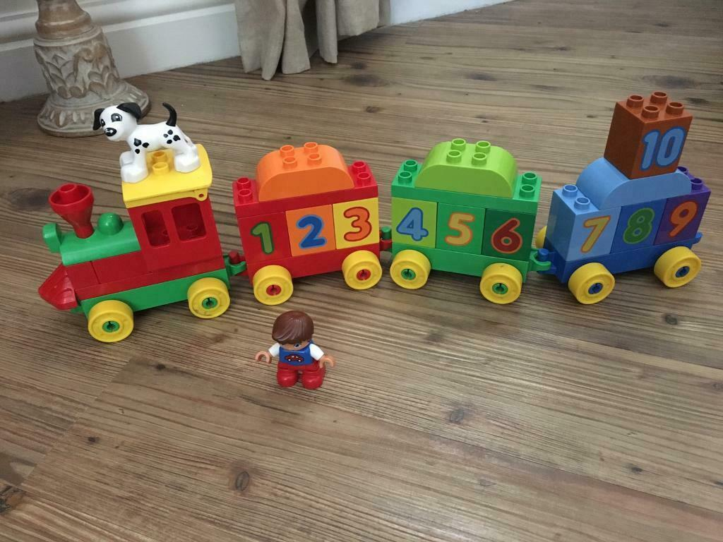 Duplo Lego Sets Number Train And Bus Alphabet Sets In Norwich