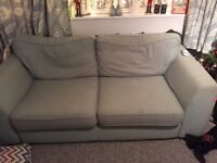 FREE!! Duck egg colour sofa
