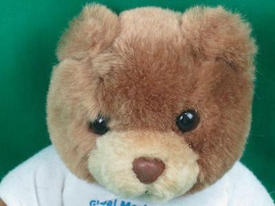 Pfizer Global Market Analytics Vendor Fair Teddy Bear Pharmaceutical Ad Plush