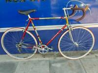 Bauer 531c reynolds campagnolo road racer bike bicycle