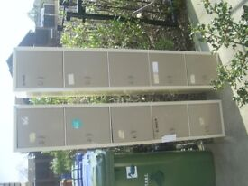 5 Tier multi cupboard lockers x 2 excellent used condition