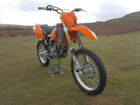 KTM 525 SX.2003 VERY CLEAN RARE BIKE,POSSIBLE PX,SWOP,ALL ORIGINAL,VERY LITTLE USE,450,520,SXF,RFS