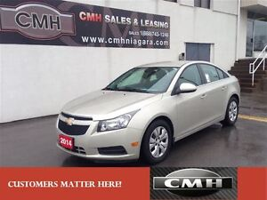 2014 Chevrolet Cruze 1LT BLUETOOTH REMOTE STARTER *CERTIFIED*