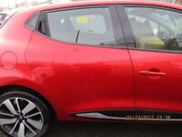2013 RENAULT CLIO MK4 DOOR REAR DRIVER SIDE RIGHT RED TENNP COMPLETE #9276A