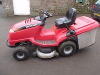 Honda 2417 ride on mower